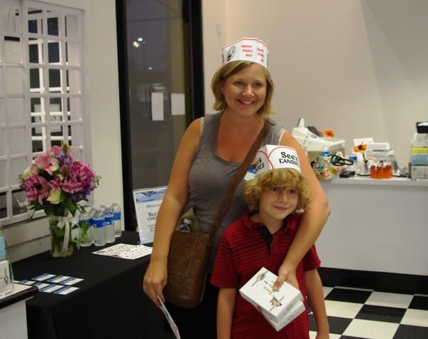 Janelle (Renegade Motherhood) and her son, Rocket.