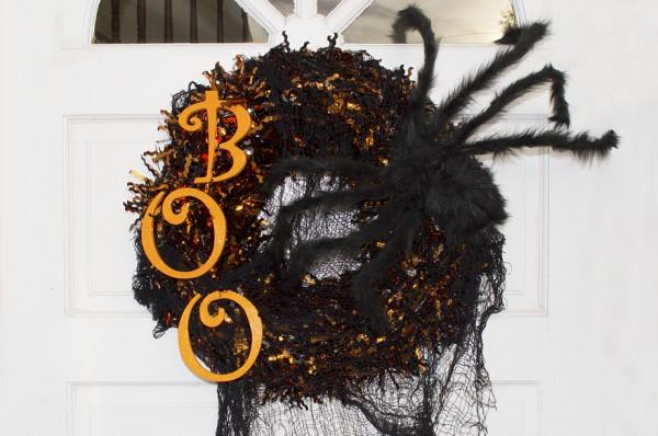 Fancy Shanty's Halloween Wreath