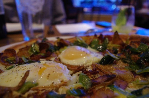 cpk a egg bacon potato pizza