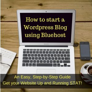 wordpress, bluehost