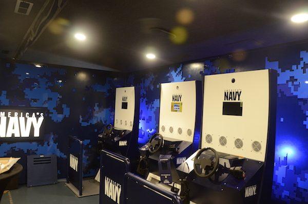 US Navy VR display