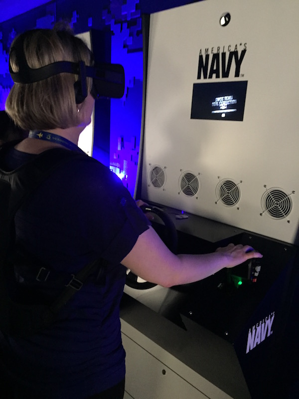 US Navy VR experience