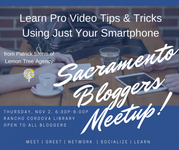 sacramento bloggers meetup trailer
